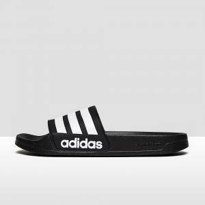 Badslippers Adilette Cloudfoam Black White