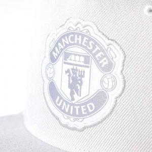 Adidas Manchester United Cap Solid Grey White