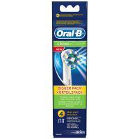 Braun Oral-B EB50 4x Opzetborstels Cross Action