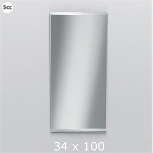 Decor Walther Wandspiegel SPACE 134100 Facet 10mm 34x100 Cm
