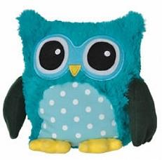Warmies Magnetronknuffel Uil - Turquoise