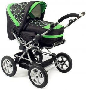 CHIC 4 BABY Combi-kinderwagen Viva Orbit Green