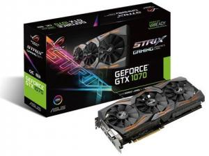 ASUS GeForce GTX 1070 ROG Strix GAMING OC - 8 GB