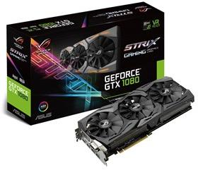 ASUS GeForce GTX 1080 ROG Strix GAMING - 8 GB