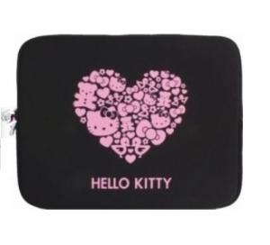 Sanrio Universele Hello Kitty Hoes Voor 11 Inch Laptop Zwart
