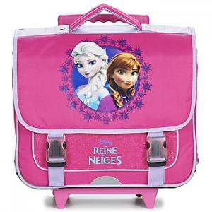 Rugtassen Disney REINE DES NEIGES CARTABLE TROLLEY 38CM