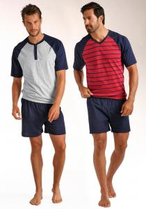 NU 15% KORTING: LE JOGGER Shortama In Set Van 2