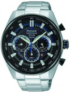 Pulsar TV-Model 2015 Herenhorloge Chronograaf Solar PX5019X1 (4894138028250)