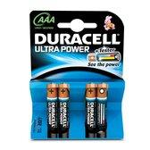 Duracell Ultra Power Batterijen - AAA 4 Stuks