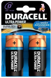 Duracell Batterijen Ultra Power Type-d Max1300 2stuks