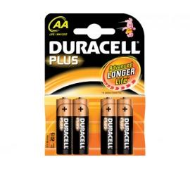 Duracell MN1500P4+POWER Batterij LR6 AA Plus
