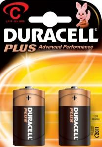 Duracell C Plus Power Batterijen 2 Stuks 5000394019089