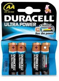 Duracell Ultra Power Batterijen - AA 4 Stuks (5000394099692)