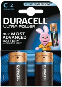 Duracell Ultra Power Batterijen - C 2 Stuks