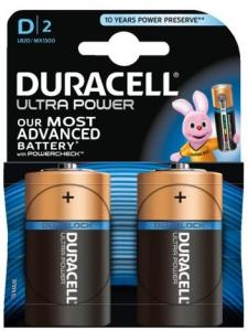 Duracell Ultra Power Batterijen - D 2 Stuks