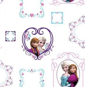 Kids At Home Behang Frozen Frames Wit 70-539 (5011583182088)