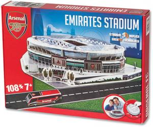 Puzzel Arsenal: Emirates Stadium 106 Stukjes