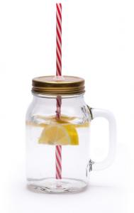Mason Jar Mug Glasses Set Of 4