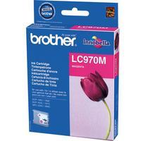 BROTHER LC-970 Inktcartridge Magenta Standard Capacity 300 Pagin