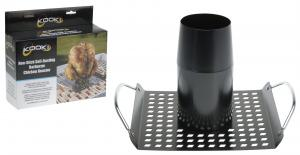 Kooki Grillplaat - Beer Can Chicken