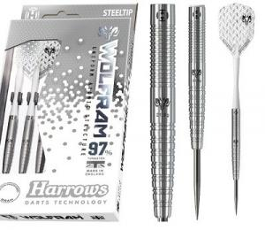 Harrows Steeltip Wolfram Dartpijlen - 25 Gr (5017626011629)