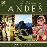 ANDES 40 BEST OF.. .. FLUTES & SONGS. V/A CD