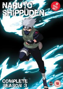 Naruto Shippuden Complete Series 3 Box Set Episodes 101-153 DVD