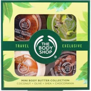 The Body Shop Mini Butter Geschenkset Coconut + Olive Shea Choco
