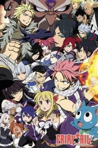 Fairy Tail Poster Pack Season 6 Key Art 61 X 91 Cm 5