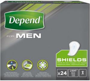 Depend Shields For Men 24st