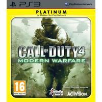 Call Of Duty 4 Modern Warfare Game Platinum PS3