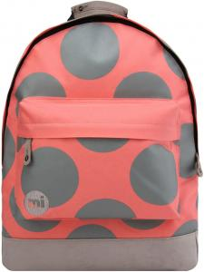 Mi-Pac Polka XL Backpack Coral / Grey