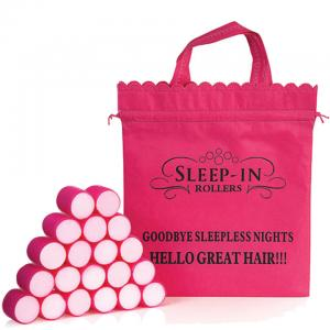 Sleep In Rollers Pink 20 Plus Iconic Bag (5033102021098)