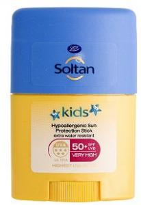 Soltan Kids Clear Gezicht Stick SPF 50 25g