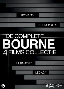 De Complete Bourne 4 Films Collectie 4DVD