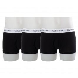 Calvin Klein 3 Pack Trunk Low Rise Zwart
