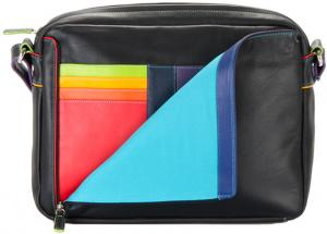 Mywalit Office Collection Medium Organiser Cross Body Bag Black/