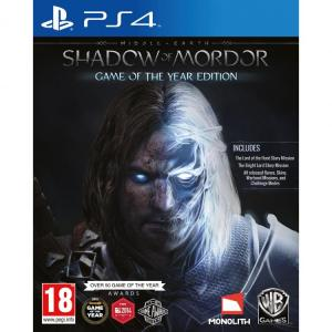Middle-Earth Shadow Of Mordor GOTY Edition PS4
