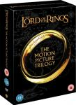 LORD OF THE RINGS TRILOGY. MOVIE DVD