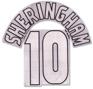 Sheringham 10 Offici Manchester United Champions League Printing