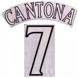 Cantona 7 Offici Manchester United Champions League Printing 199