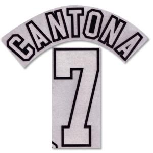 Cantona 7 Offici Manchester United Printing 1996-1997