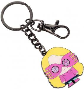Harry Potter Cutie Collection Keychain Luna Lovegood Silver Plat