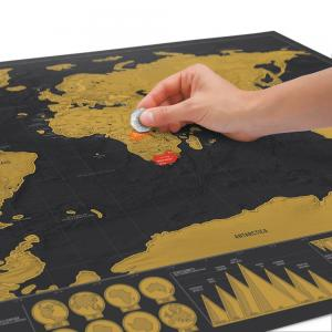 Luckies Kraskaart Scratch Map - Deluxe Editie