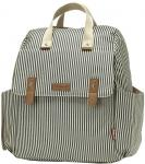 Babymel Robyn Convertible Backpack Navy Stripe Luiertas