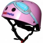 Kiddimoto Kinderhelm Roze Bril Medium