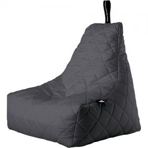 Extreme Lounging B-bag Mighty-b Quilted Zitzak - Grijs