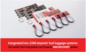 HomingPin Luggage Recovery Double Pack Includes 6 Loops 12 Large