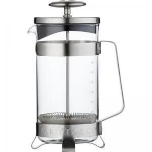 Barista & Co Cafetiere 1 Liter - Electric Steel