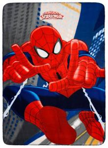 Fleece Deken - Ultimate Spider-Man 100x140cm